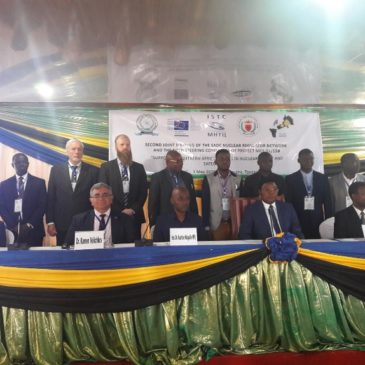 Tanzanian Prime Minister inaugurates the Joint Meeting of SADC Nuclear Regulators Network and the Steering Committee of Project MC 5.01/15B