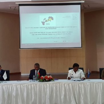 Convened by ISTC, the SADC Nuclear Regulators' Network meets in Malawi to discuss Nuclear Safety and Safeguards