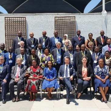 Botswana, SADC Secretariat join the Group of Partners engaged with the Implementation of the Project Support to Southern African states in Nuclear Safety and Safeguards