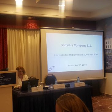 Мeeting during Interreg Balkan-Mediterranean BALKANMED in Tirana